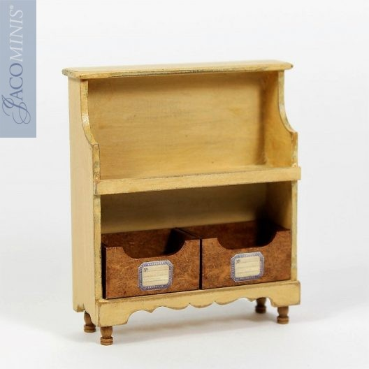 HER 12   Little Cabinet With 2 Drawers   Heritage